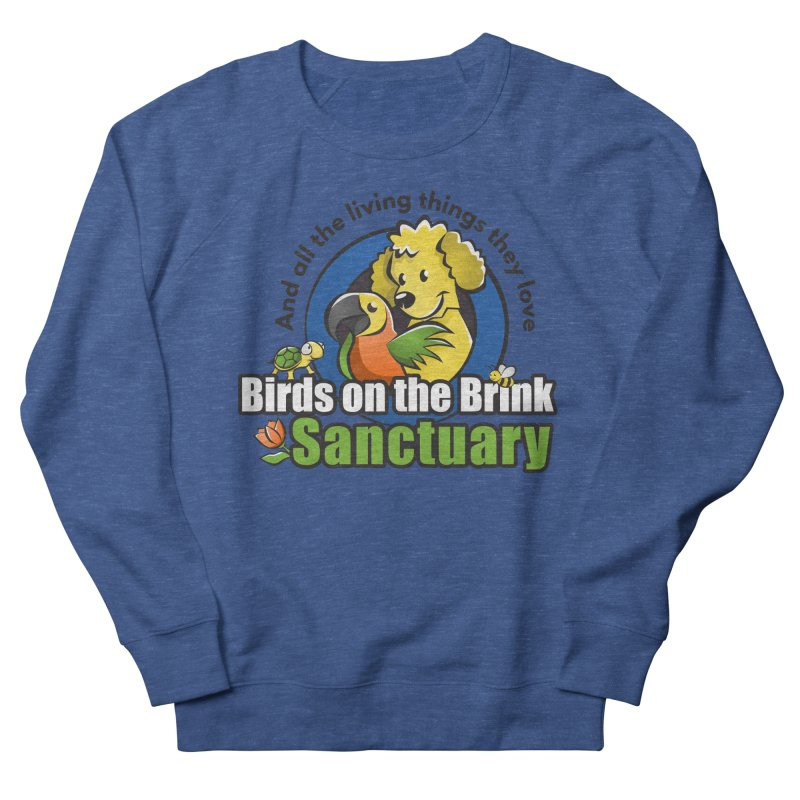 Birds on the Brink Logo Gear Men's Sweatshirt by Birds on the Brink Sanctuary Shop