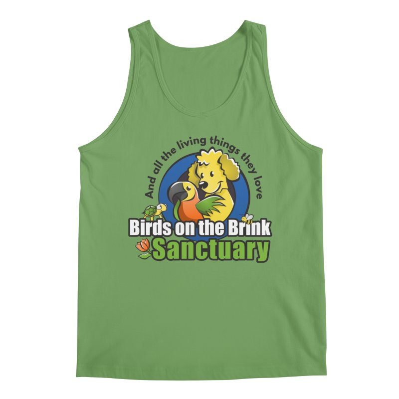Birds on the Brink Logo Gear Men's Tank by Birds on the Brink Sanctuary Shop