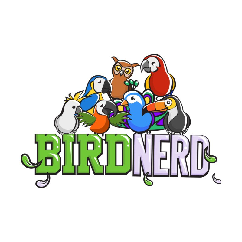 Bird Nerd Men's T-Shirt by Birds on the Brink Sanctuary Shop