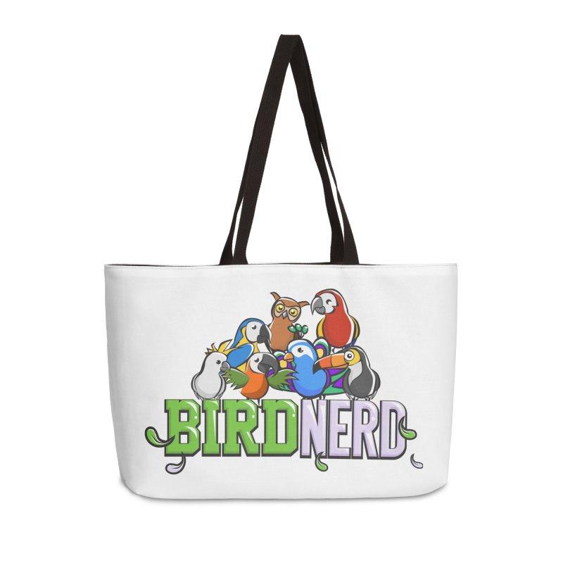 Bird Nerd Accessories Bag by Birds on the Brink Sanctuary Shop