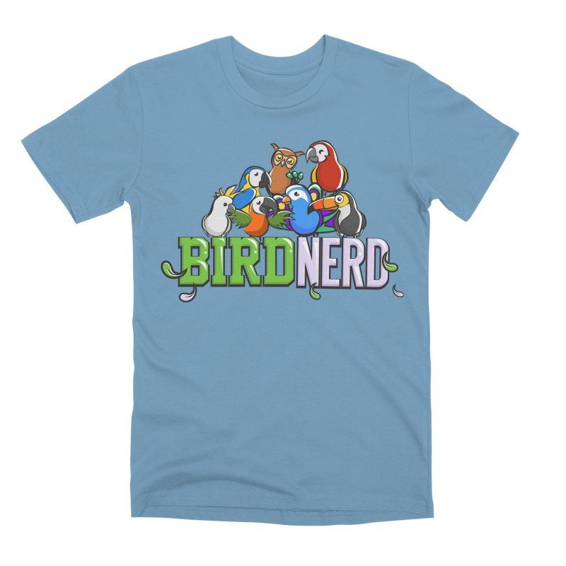 Bird Nerd Men's T-Shirt by Birds on the Brink Sanctuary Shop