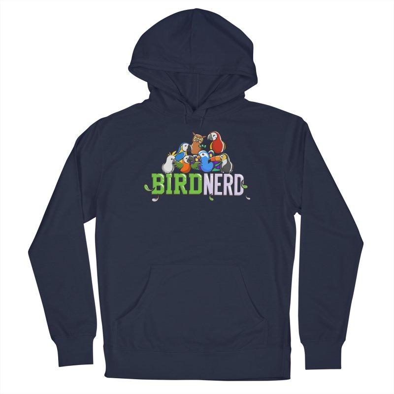 Bird Nerd Men's Pullover Hoody by Birds on the Brink Sanctuary Shop