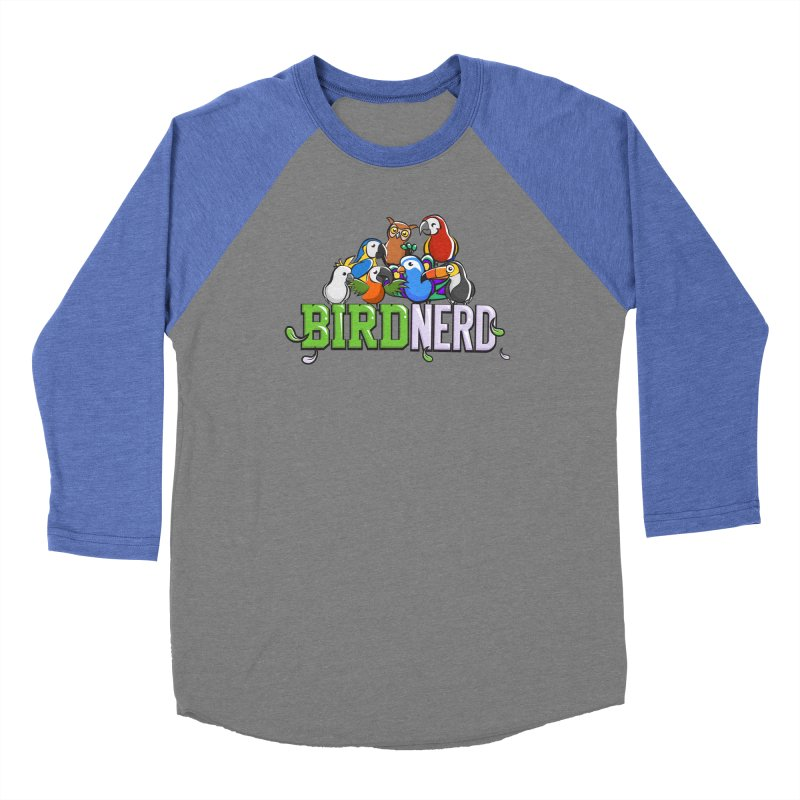 Bird Nerd Men's Longsleeve T-Shirt by Birds on the Brink Sanctuary Shop