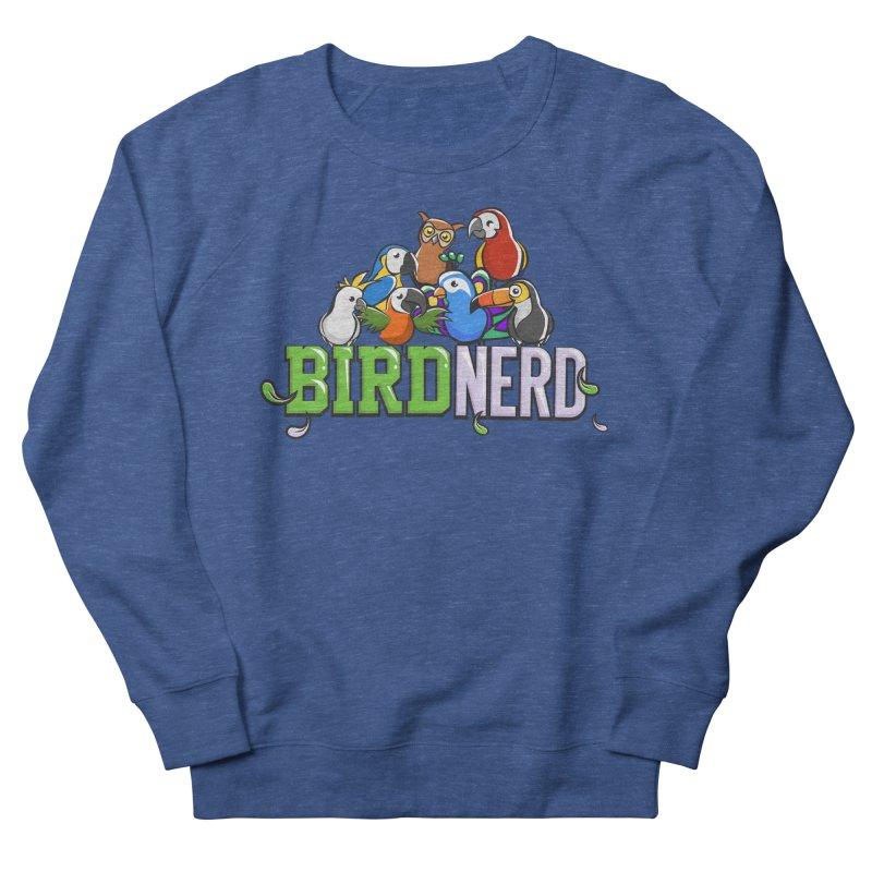 Bird Nerd Men's Sweatshirt by Birds on the Brink Sanctuary Shop