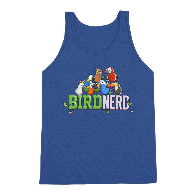 Bird Nerd Men's Tank by Birds on the Brink Sanctuary Shop