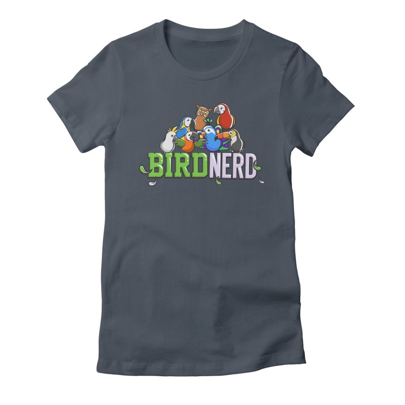 Bird Nerd Women's T-Shirt by Birds on the Brink Sanctuary Shop