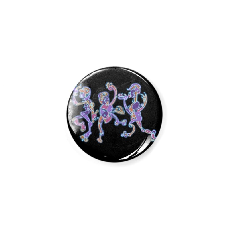 Dancing Figures Accessories Button by BRAVO's Shop