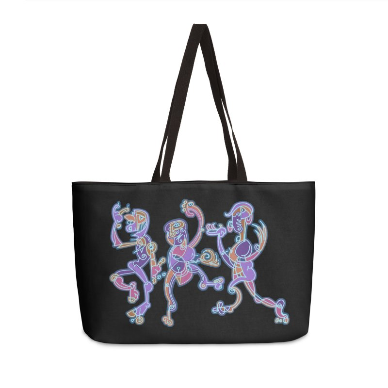 Dancing Figures Accessories Weekender Bag Bag by BRAVO's Shop