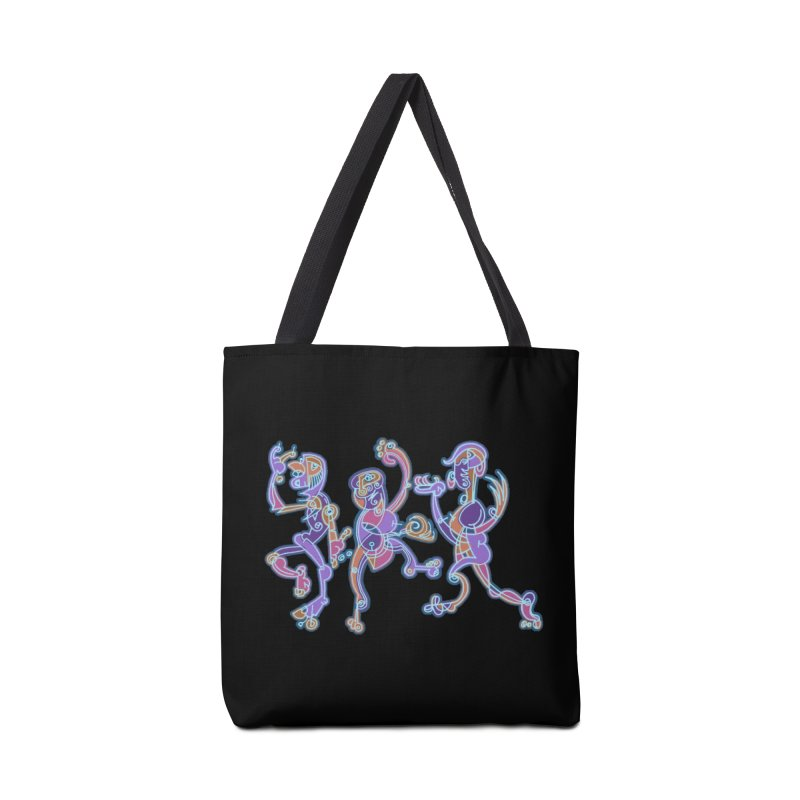 Dancing Figures Accessories Tote Bag Bag by BRAVO's Shop