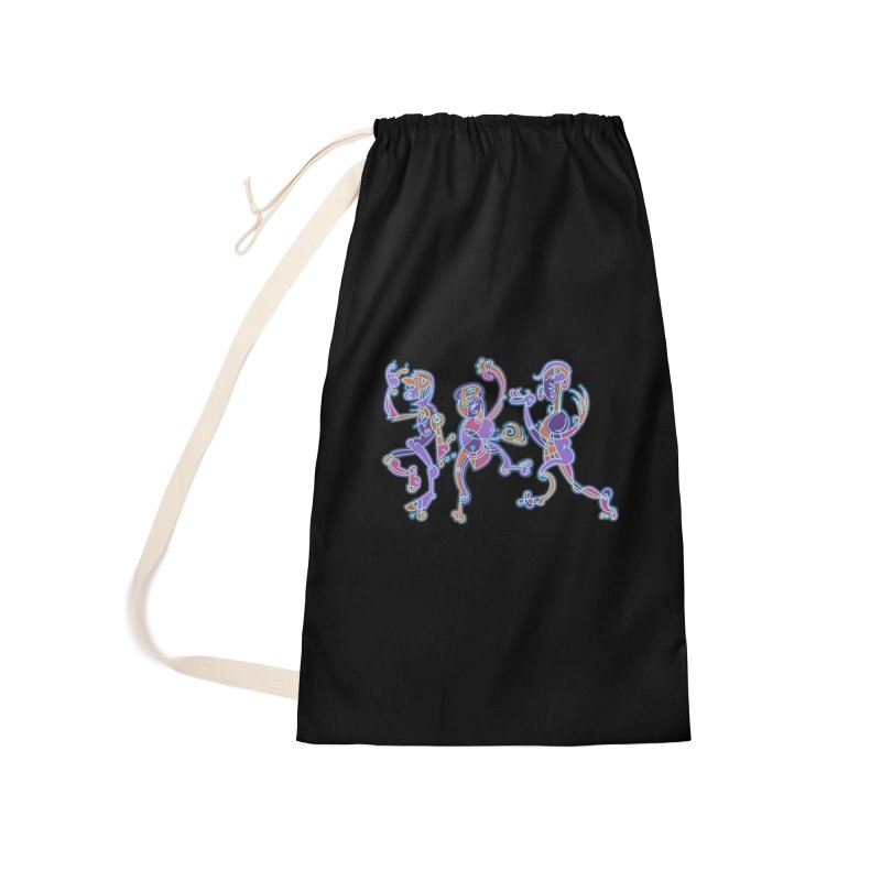 Dancing Figures Accessories Laundry Bag Bag by BRAVO's Shop