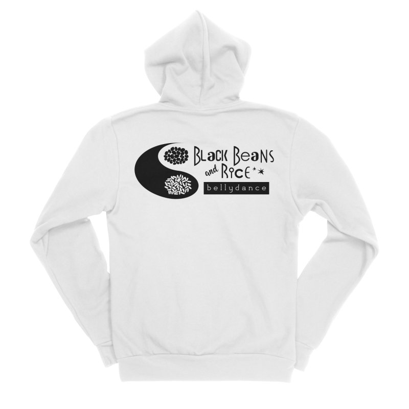 Black Beans and Rice Bellydance Women's Zip-Up Hoody by BRAVO's Shop