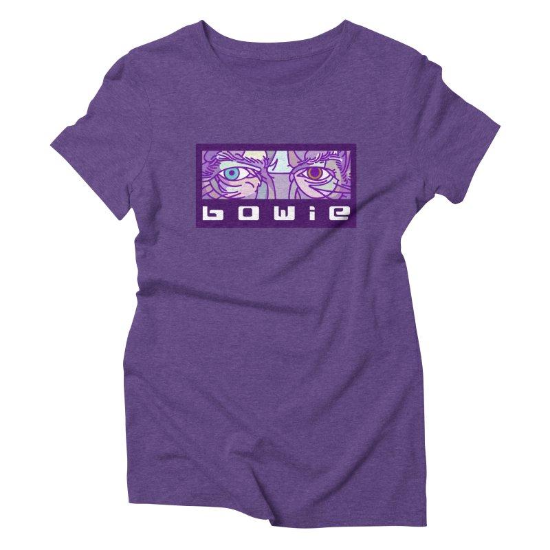 BOWIE Women's Triblend T-Shirt by BRAVO's Shop