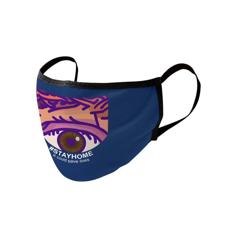 Stay Home Accessories Face Mask by BRAVO's Shop