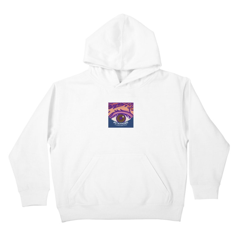 Stay Home Kids Pullover Hoody by BRAVO's Shop
