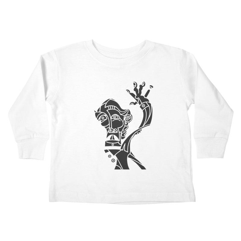BRAVO NEGRO Kids Toddler Longsleeve T-Shirt by BRAVO's Shop