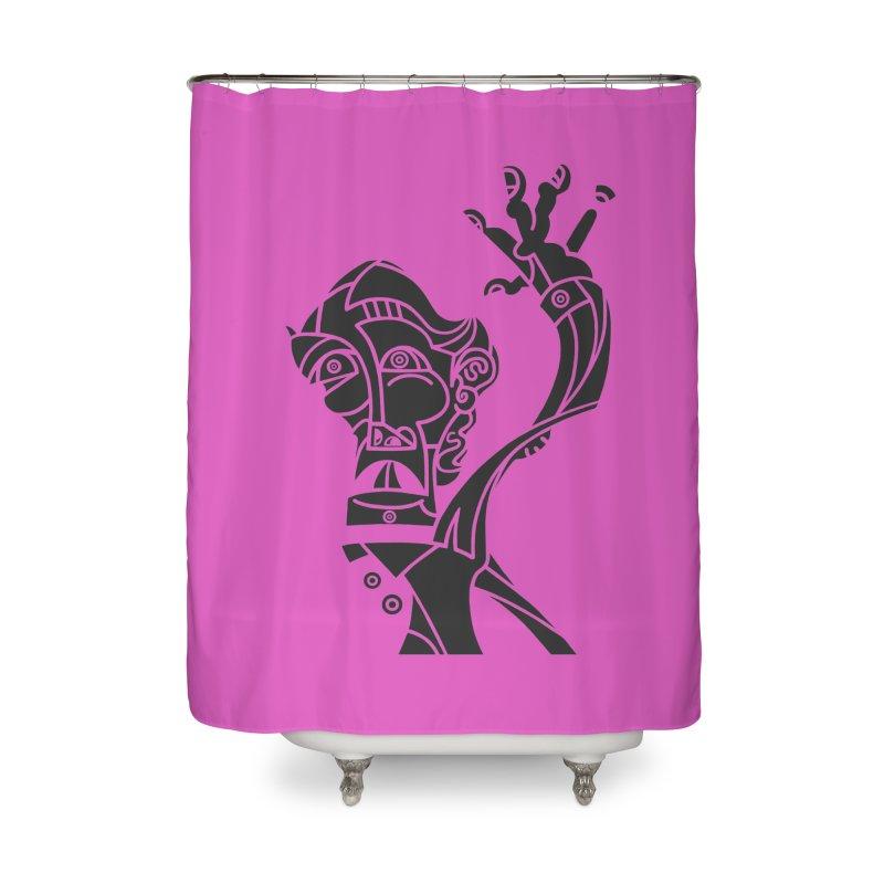 BRAVO NEGRO Home Shower Curtain by BRAVO's Shop
