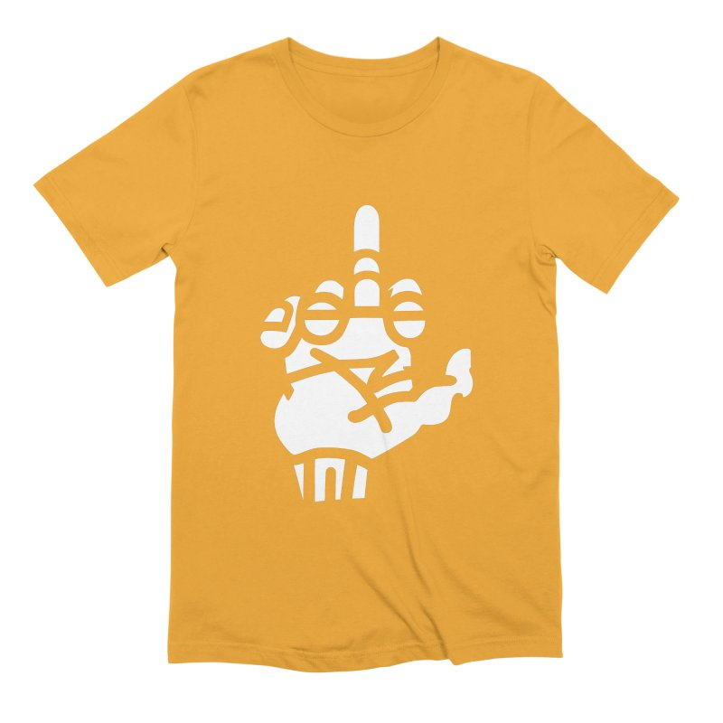 Middle Finger Cupcake Men's Extra Soft T-Shirt by BRAVO's Shop