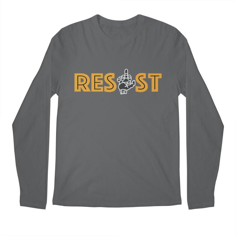 RESIST Men's Longsleeve T-Shirt by BRAVO's Shop