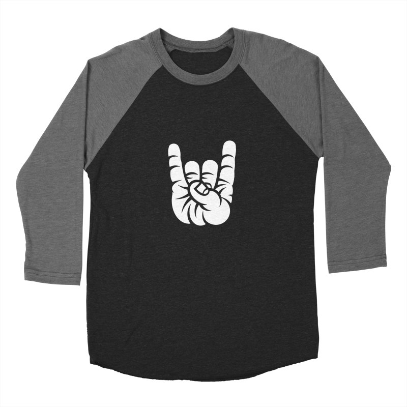 ROCK OUT! Men's Baseball Triblend Longsleeve T-Shirt by BRAVO's Shop
