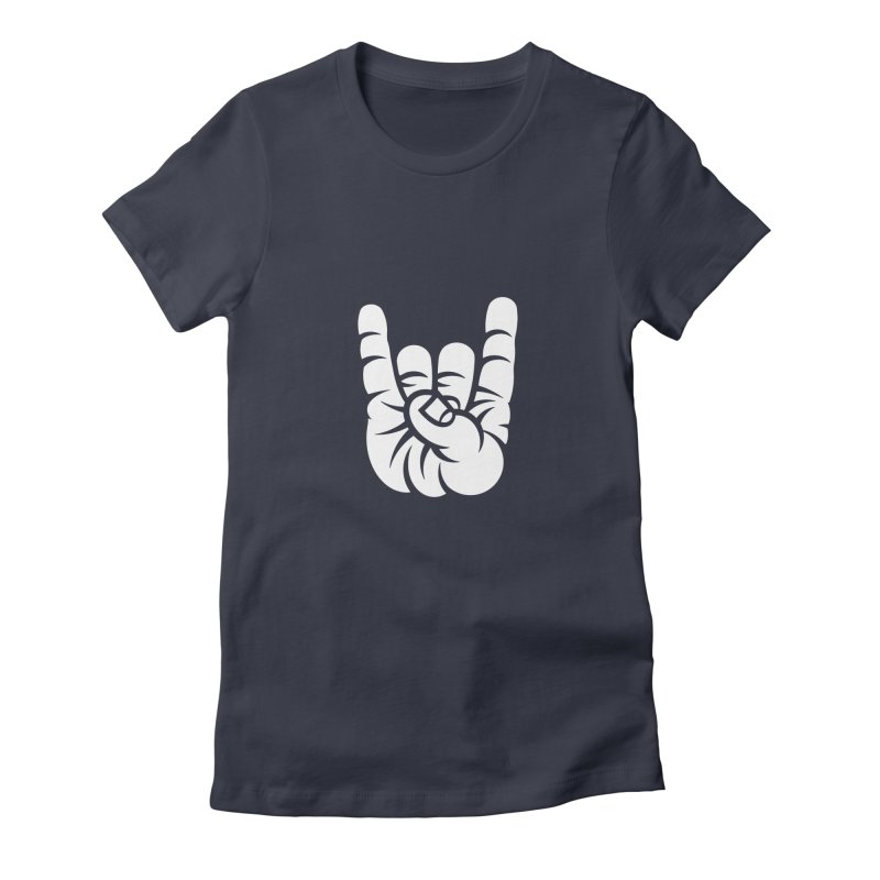 ROCK OUT! Women's Fitted T-Shirt by BRAVO's Shop
