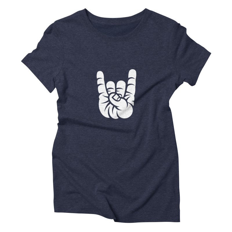 ROCK OUT! Women's Triblend T-Shirt by BRAVO's Shop