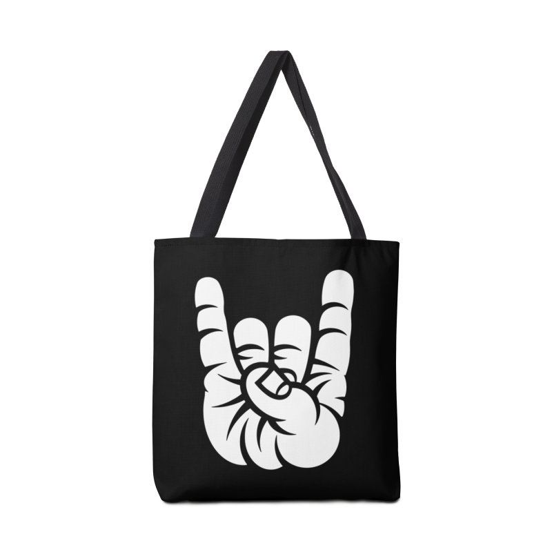 ROCK OUT! Accessories Tote Bag Bag by BRAVO's Shop