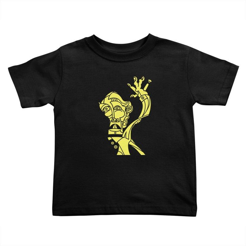 Bravo Amarillo Kids Toddler T-Shirt by BRAVO's Shop