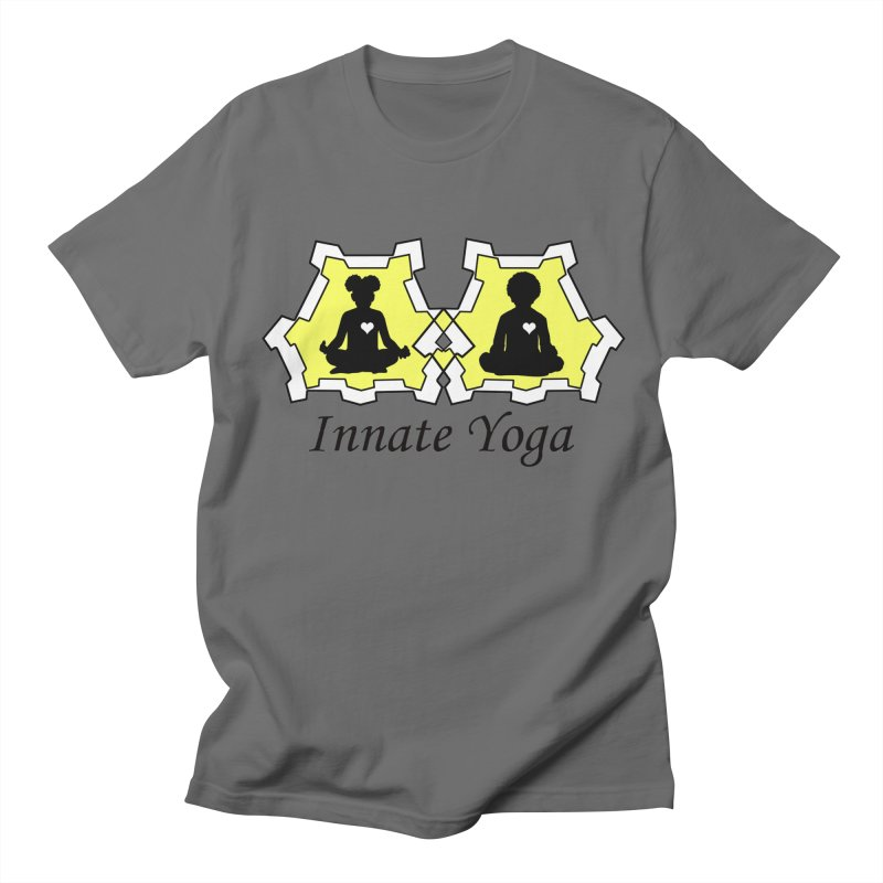 Innate Yoga Men's T-Shirt by BRAVO's Shop