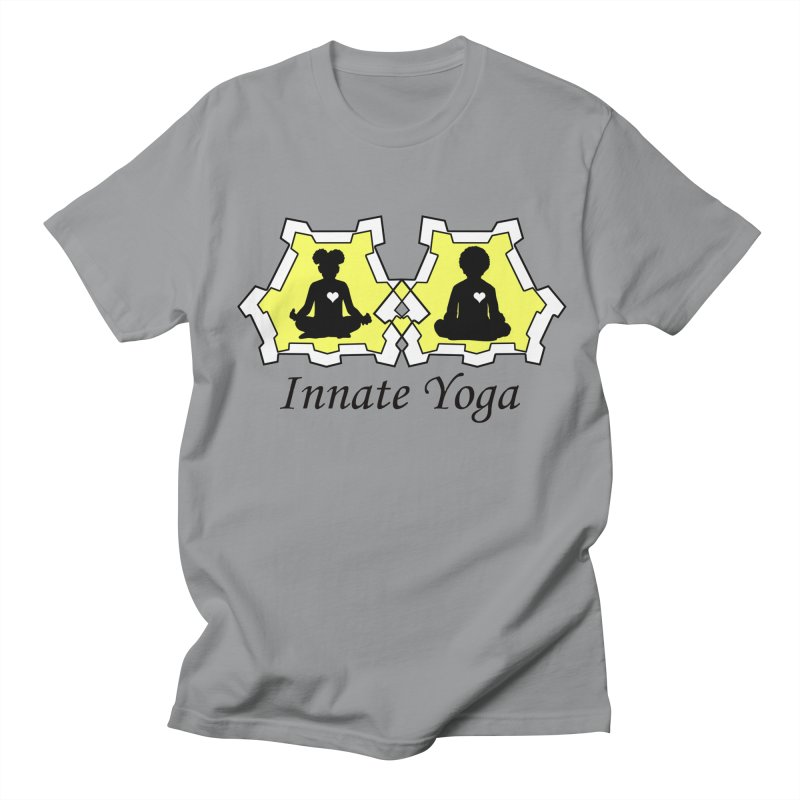 Innate Yoga Men's Regular T-Shirt by BRAVO's Shop