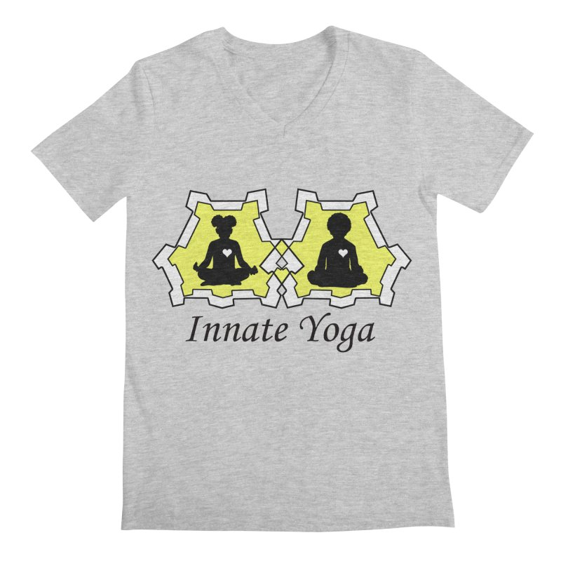 Innate Yoga Men's Regular V-Neck by BRAVO's Shop