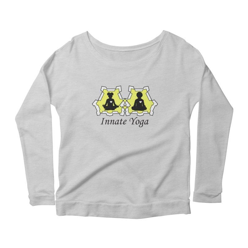 Innate Yoga Women's Scoop Neck Longsleeve T-Shirt by BRAVO's Shop