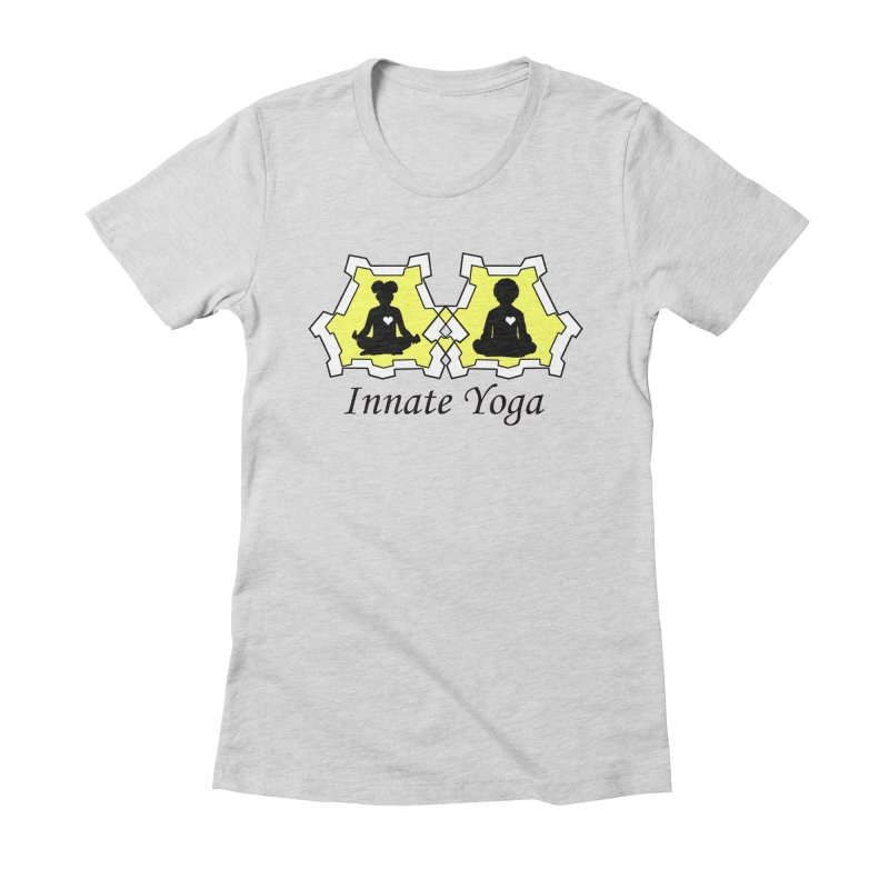 Innate Yoga Women's Fitted T-Shirt by BRAVO's Shop