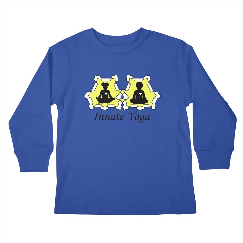 Innate Yoga Kids Longsleeve T-Shirt by BRAVO's Shop