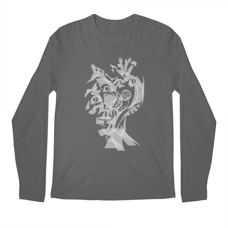 CUBIST BRAVO Men's Regular Longsleeve T-Shirt by BRAVO's Shop