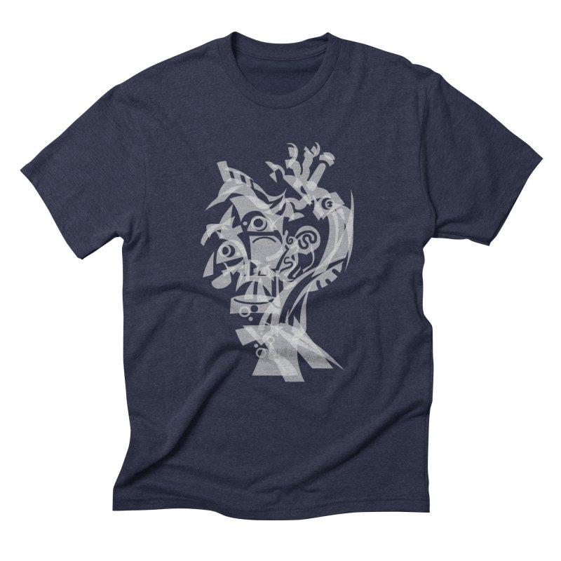 CUBIST BRAVO Men's Triblend T-Shirt by BRAVO's Shop