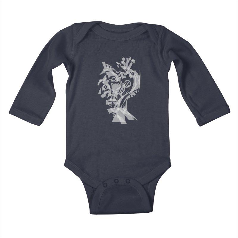 CUBIST BRAVO Kids Baby Longsleeve Bodysuit by BRAVO's Shop