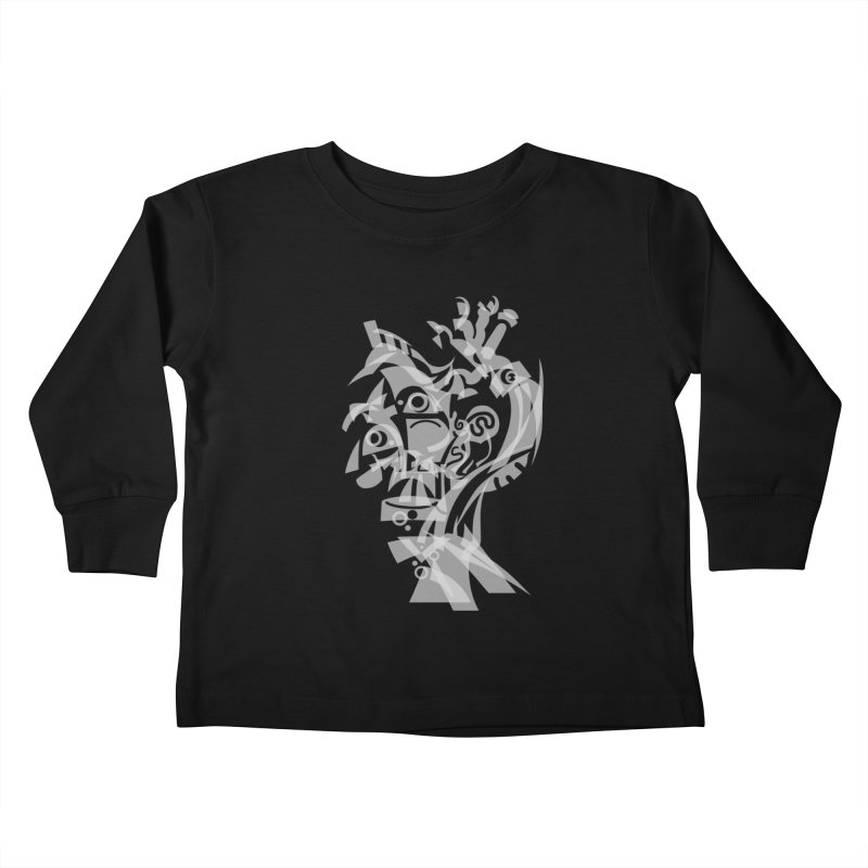 CUBIST BRAVO Kids Toddler Longsleeve T-Shirt by BRAVO's Shop
