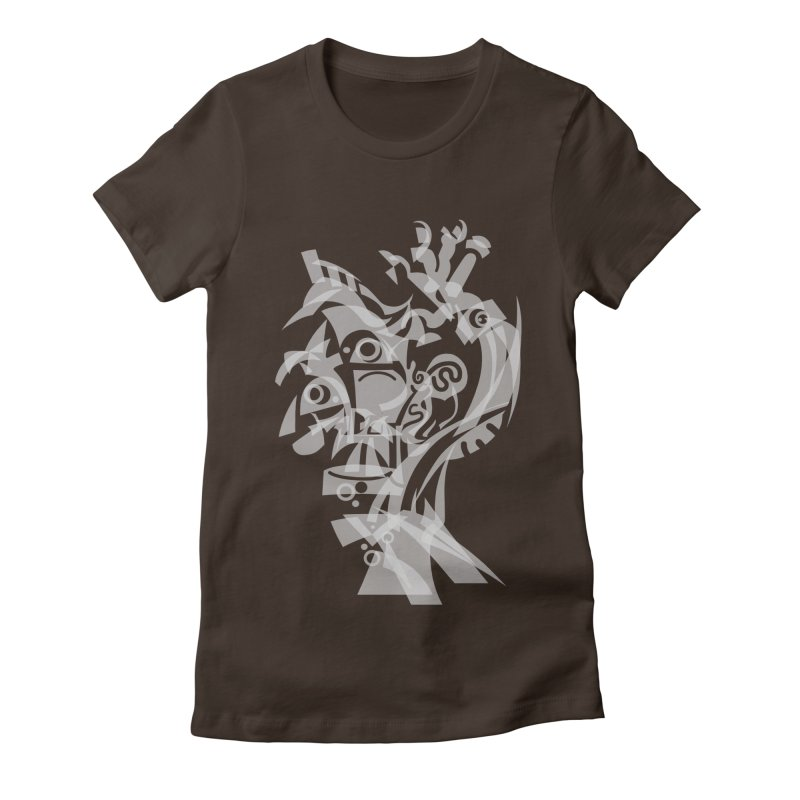 CUBIST BRAVO Women's Fitted T-Shirt by BRAVO's Shop