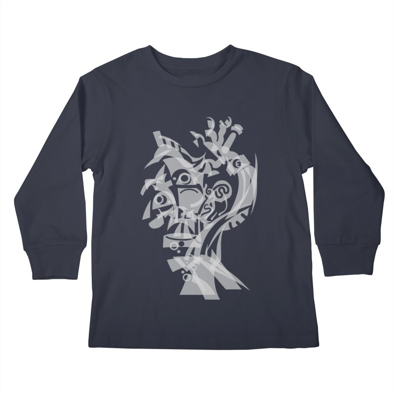 CUBIST BRAVO Kids Longsleeve T-Shirt by BRAVO's Shop