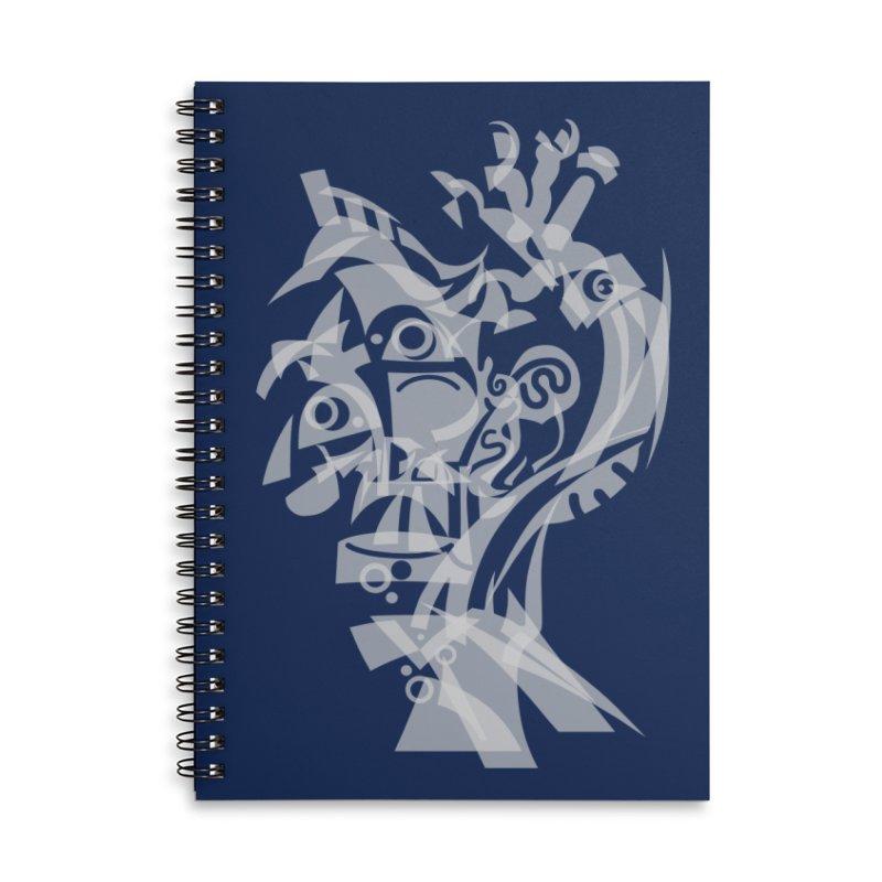 CUBIST BRAVO Accessories Lined Spiral Notebook by BRAVO's Shop