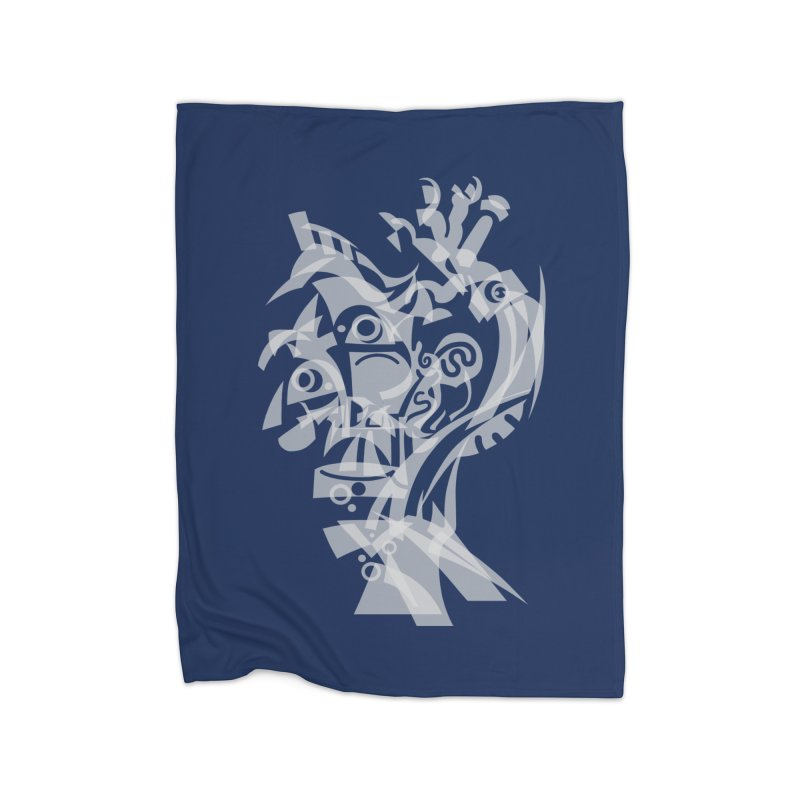 CUBIST BRAVO Home Fleece Blanket Blanket by BRAVO's Shop