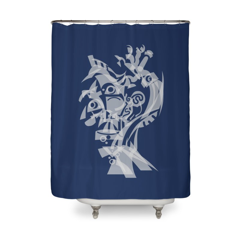 CUBIST BRAVO Home Shower Curtain by BRAVO's Shop