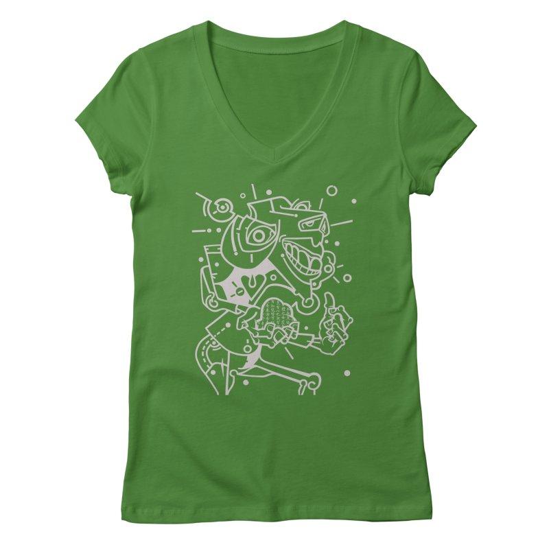 Minotaur Women's Regular V-Neck by BRAVO's Shop