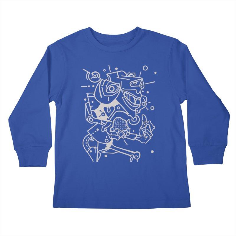 Minotaur Kids Longsleeve T-Shirt by BRAVO's Shop