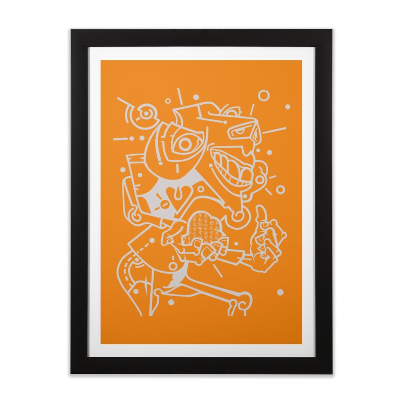 Minotaur Home Framed Fine Art Print by BRAVO's Shop