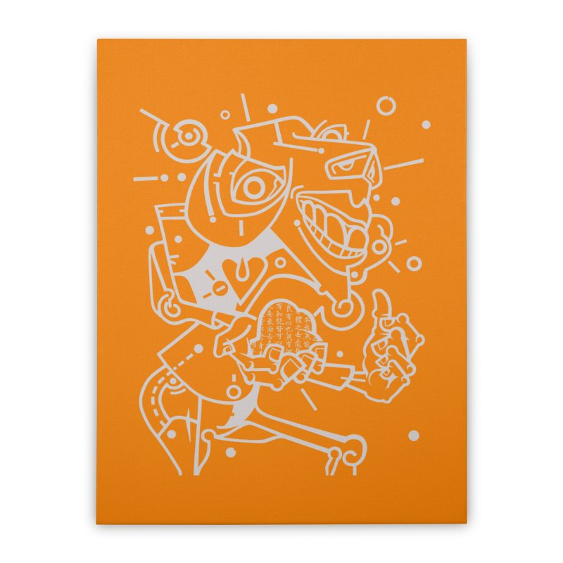 Minotaur Home Stretched Canvas by BRAVO's Shop