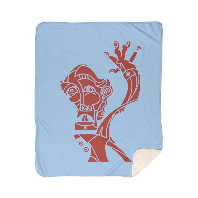 BRAVO ROJO Home Sherpa Blanket Blanket by BRAVO's Shop