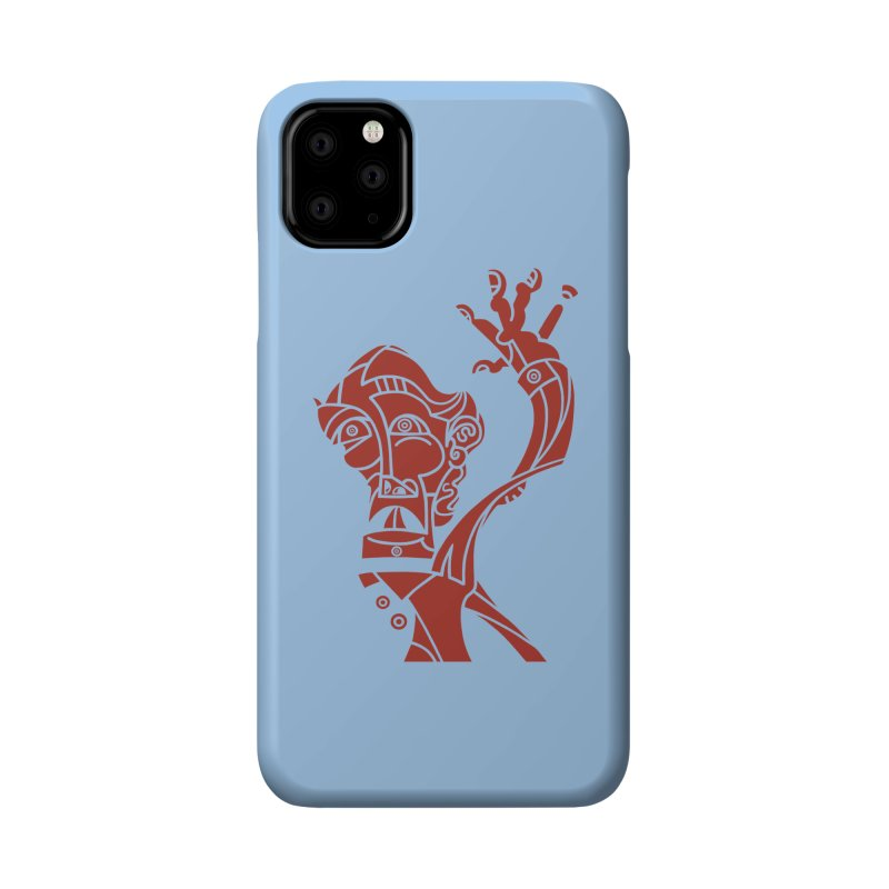 BRAVO ROJO Accessories Phone Case by BRAVO's Shop