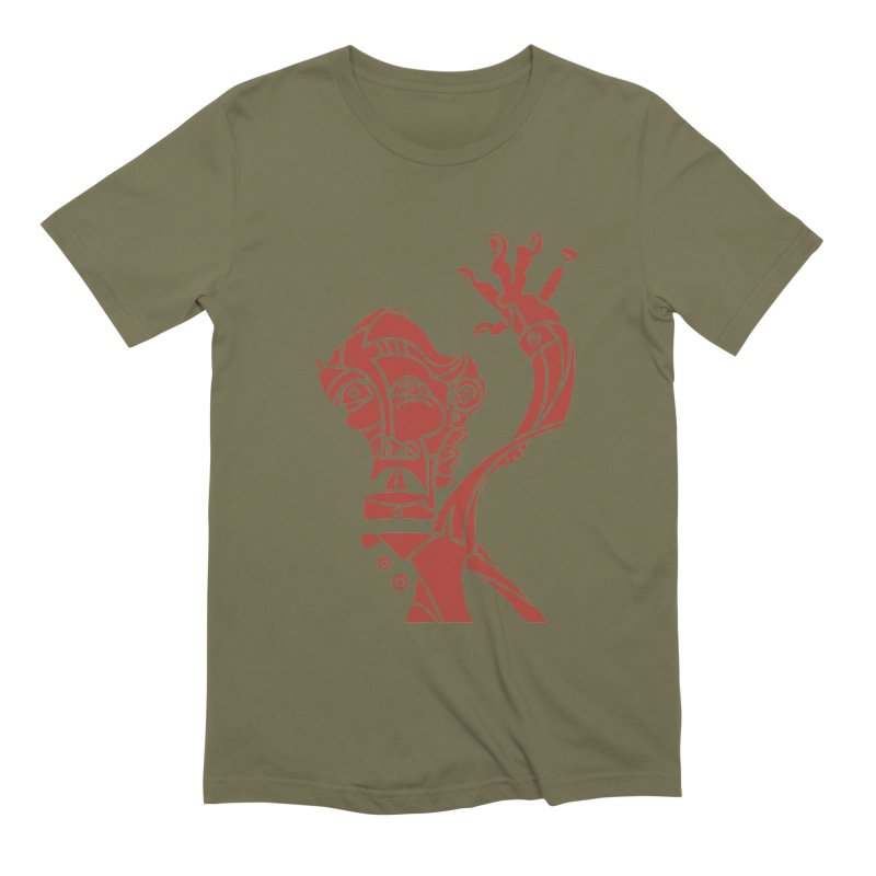 BRAVO ROJO Men's Extra Soft T-Shirt by BRAVO's Shop
