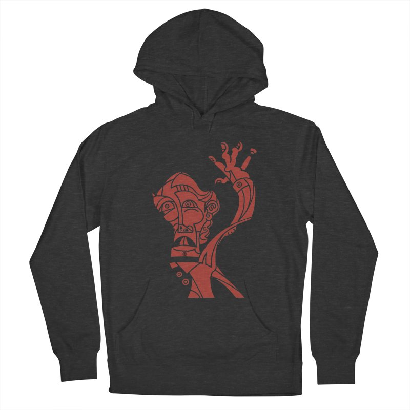 BRAVO ROJO Women's French Terry Pullover Hoody by BRAVO's Shop